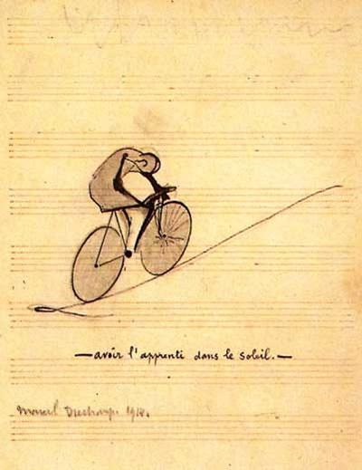 Marcel DUchamp - L'apprenti dans le Soleil