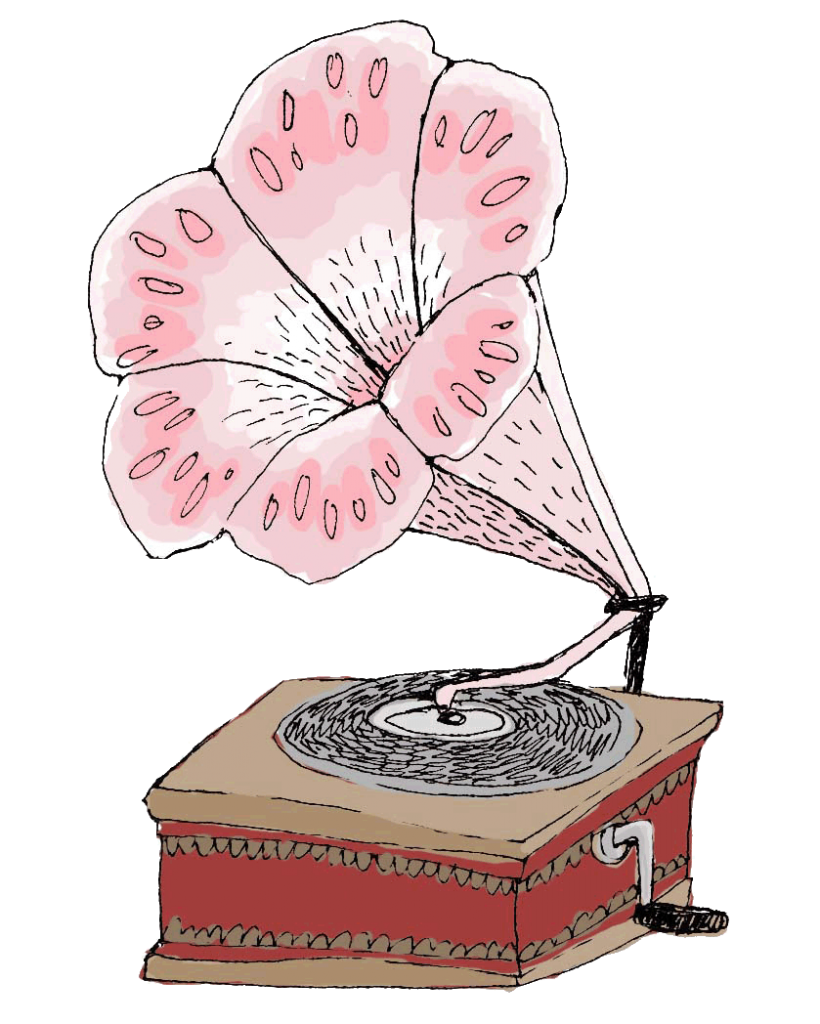 Emilyafox Illustration - Gramophone copy