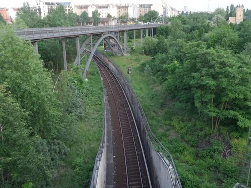 הרכבת ליד הבית שלי
